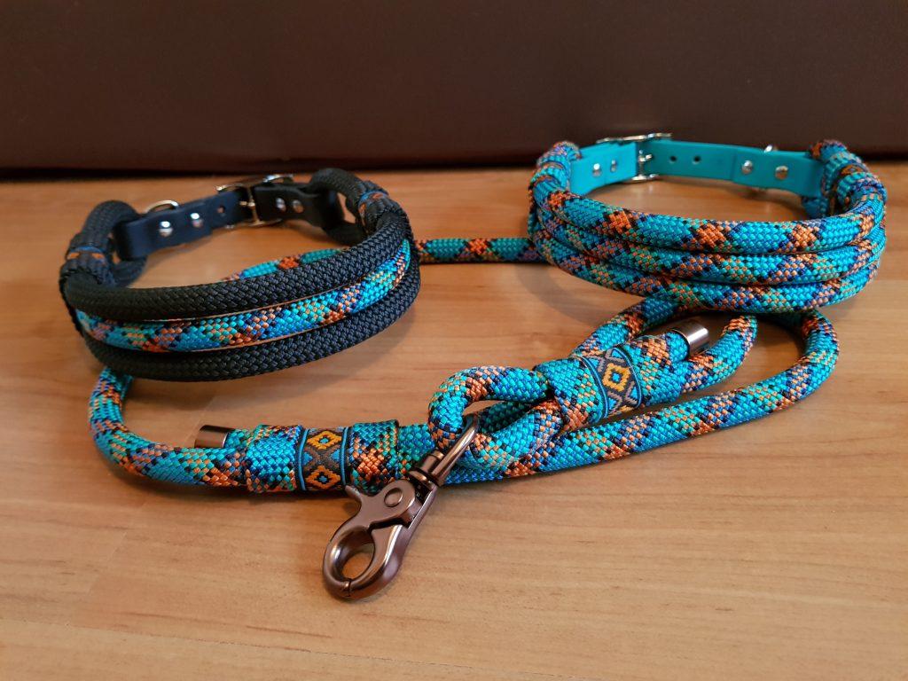 Set Halsband aus Seil